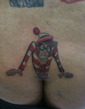where's waldo tattoo