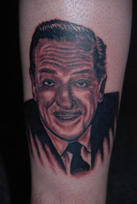 walt disney tattoo